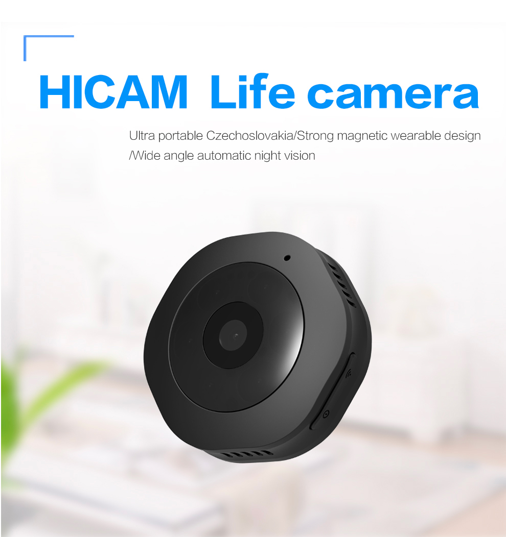 Mini Wifi Camera H6 Portable Magnetic Handheld Wireless HD night vision